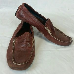 Polo Ralph Lauren Driving Penny Loafers Red 11M